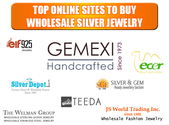 Top Online Sites to buy Wholesale Silver Jewelry