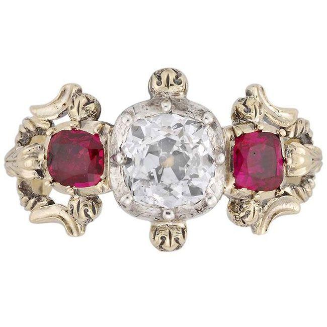 True vintage appeal in engagement rings