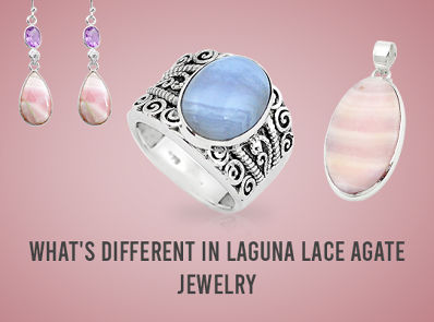 What's Different In Laguna Lace Agate Jewelry