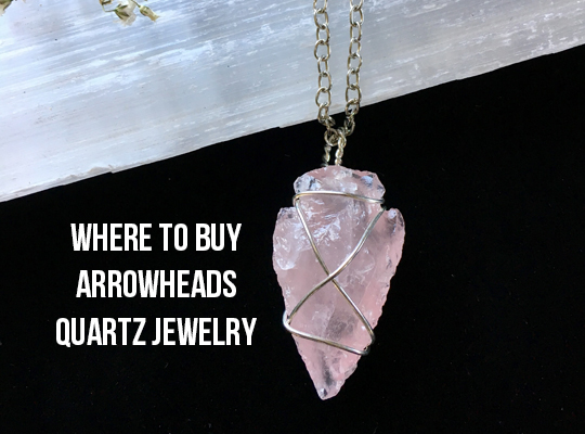 Where To Buy Arrowheads Quartz Jewelry