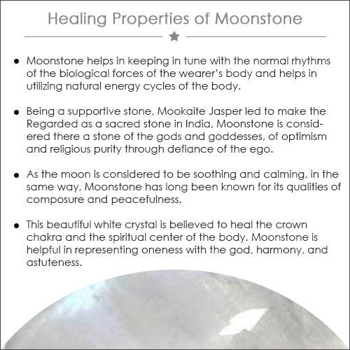 Healing Properties of moonstone