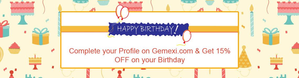Gemexi birthday offers