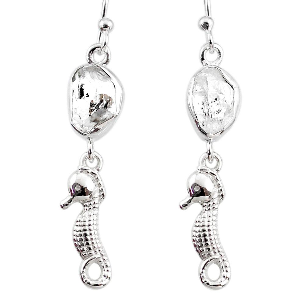 Herkimer Diamond earring