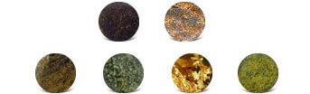 Bronzite Colors