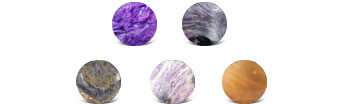 Charoite Colors