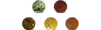 Moss Agate Colors
