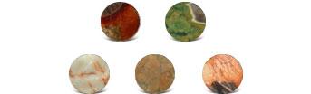 Mushroom Rhyolite Colors
