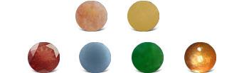 Oregon Sunstone Colors