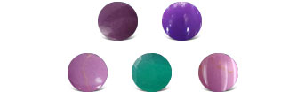 Phosphosiderite Colors
