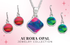 Aurora Opal Jewelry Collection