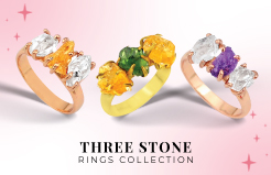 Three Stone Rings Collection