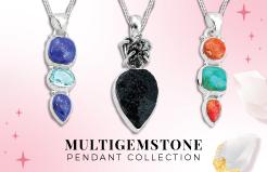 Multi Gemstone Pendant Collection