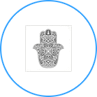 HAND OF GOD HAMSA