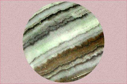 banded oil shale