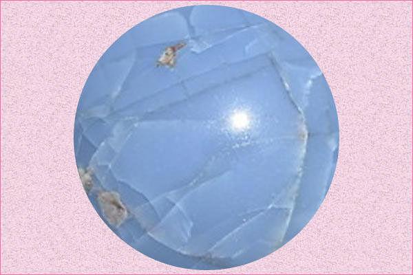 Wholesale Owyhee Blue Oregon Opal Owyhee Opal Faceted Coin Owyhee Blue Opal Oregon Opal Owyhee Natural Owyhee Opal SKU 2458 5mm