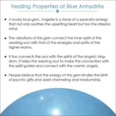 BLUE ANHYDRITE
