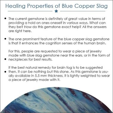 Blue Copper Slag