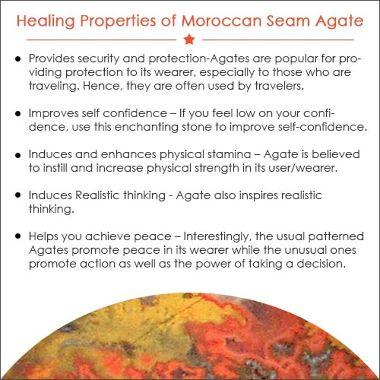 Moroccan Seam Agate