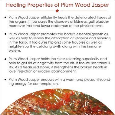 Plum Wood Jasper