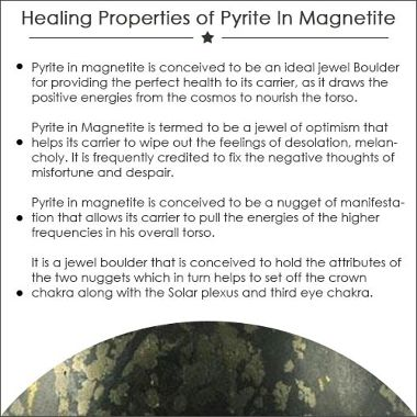Pyrite in Magnetite