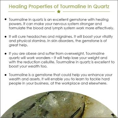 TOURMALINE IN QUARTZ