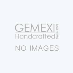 Victorian natural white pearl 925 sterling silver two tone pendant d21352