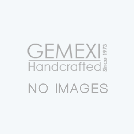 Plush Sterling Silver Sea Shell Pendant Festooned with Larimar Gemstone