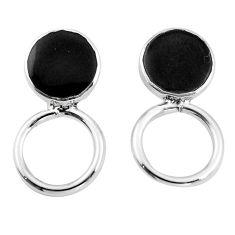 925 sterling silver black onyx enamel dangle earrings jewelry a86290