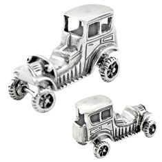 8.02gms old car victorian style 925 silver miniature collectible a82247