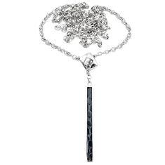 925 sterling silver black onyx enamel necklace jewelry a71480