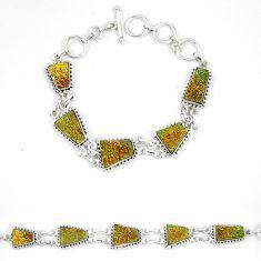 925 sterling silver titanium druzy fancy bracelet jewelry d23904