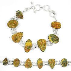Titanium druzy fancy 925 sterling silver bracelet jewelry d23913