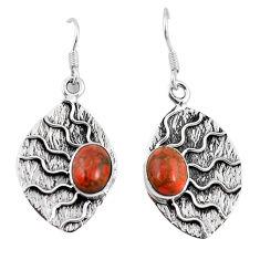 g silver dangle earrings jewelry d10261