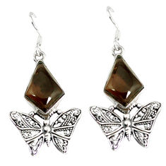 Clearance Sale- ilver butterfly earrings jewelry d12531