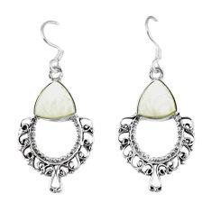 pearl 925 sterling silver dangle earrings jewelry d12827
