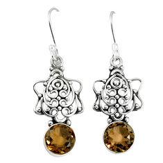 Clearance Sale- ilver dangle earrings jewelry d12982