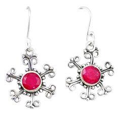 Clearance Sale- ver dangle earrings jewelry d13005