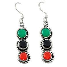 edony 925 silver dangle earrings d13567