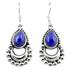 Clearance Sale-  lapis lazuli dangle earrings jewelry d13590