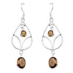 Clearance Sale- z 925 sterling silver dangle earrings jewelry d13896