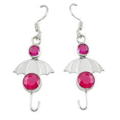 Clearance Sale- ver dangle earrings jewelry d14202