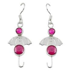Clearance Sale- ver dangle earrings jewelry d14219
