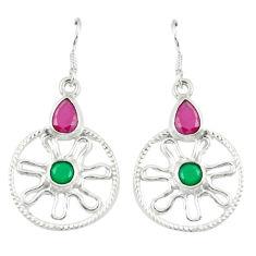 Clearance Sale- 5 silver dangle earrings jewelry d14229