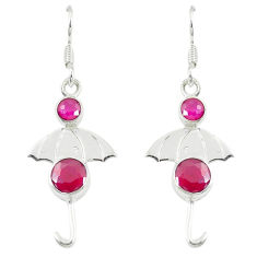 Clearance Sale- ver dangle earrings jewelry d14268