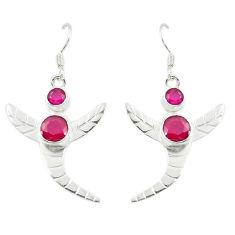 Clearance Sale- ver dangle earrings jewelry d14269