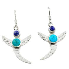 auty turquoise 925 silver dragonfly earrings d14921