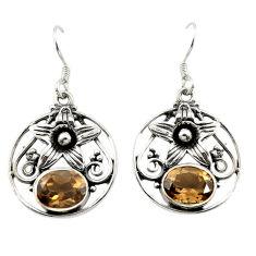 Clearance Sale- z 925 sterling silver dangle earrings jewelry d14928