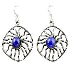Clearance Sale- erling silver dangle earrings d14946