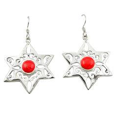 Clearance Sale- shape 925 sterling silver dangle earrings jewelry d14968