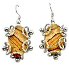 Clearance Sale-  sterling silver dangle earrings d14991